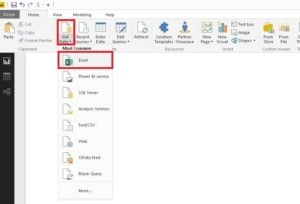 Power BI Desktop (Masaüstü) Get Data Excel-Veri Al Excel