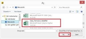Power BI Excel Veri Cekme İslemi