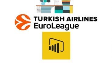 Power BI' da Euroleague İstatistikleri (Euroleague Statistics in Power BI)