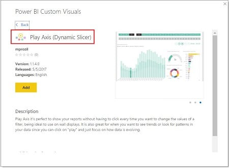 Power BI Desktop-From Store-Mağaza (From Store) - Play Axis