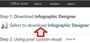 Infographic Design' ın Bilgisayara İndirilmesi