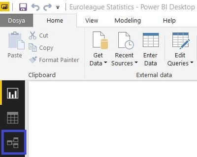 Power BI Desktop - Relationships