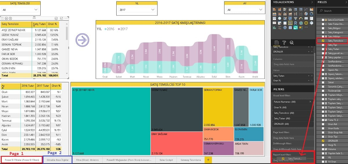 Power BI Desktop - Report Level Filters