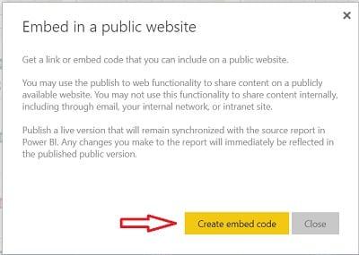 Genel Bir Web Sitesine Ekleme (Embed in a public website)