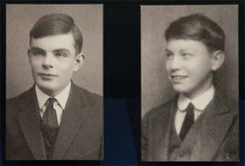 Alan Turing ve Christopher Morcom