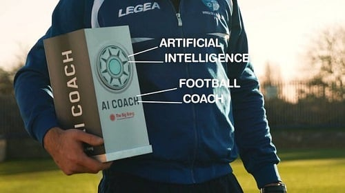 World's First Artificial Intelligence Football Coach: AI COACH