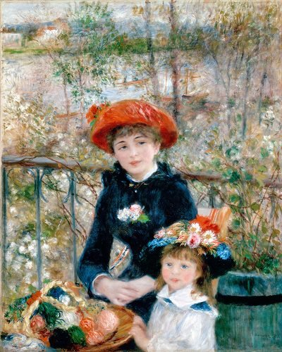 Pierre AugusteRenoir -Two Sistersor On theTerrace