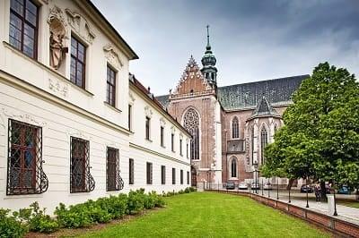 Gregor Mendel Müzesinin de Bulunduğu St. Thomas Manastırı | Brno-Çek Cumhuriyeti