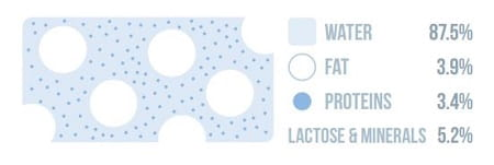 Sütün Kimyasal Yapısı | Süt Neden Beyazdır?