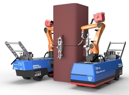 Robotic Welders Developed by Shimizu Company
