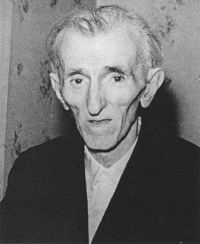 One of the last photos of Nikola Tesla before his death - 1943