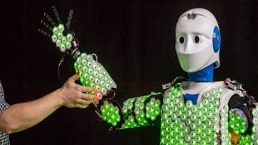 Robots now have artificial skins that can feel