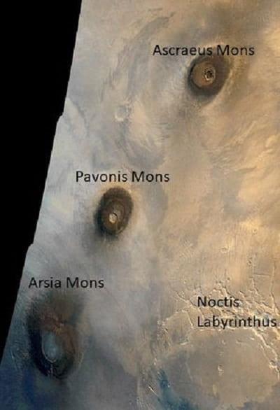 Mars 'a Kısa Bir Yolculuk - Mars 'ın Benzersiz Coğrafyası